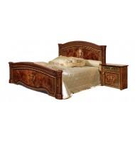 Кровать 2-х спальная (1,6 м) (1 спинка + мягкий элемент) с подъемным механизмом без матраца